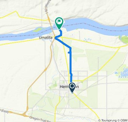 South Highway 395 1150, Hermiston to McNary Wildlife Area Trail, Umatilla