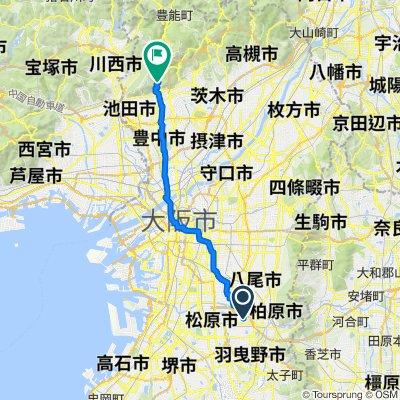 Fujiidera-shi to Minoo