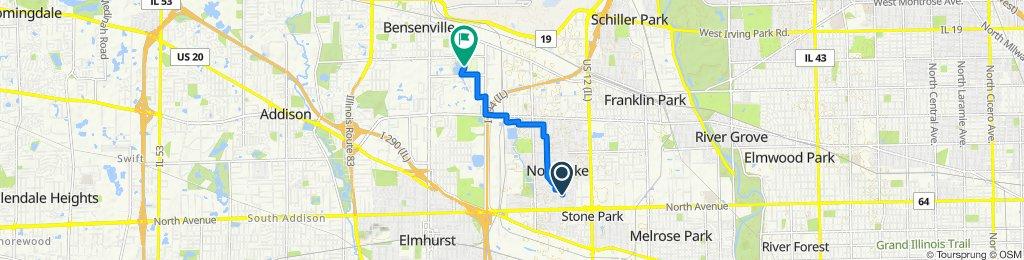 132 N Roberta Ave, Northlake to 600 John St, Bensenville