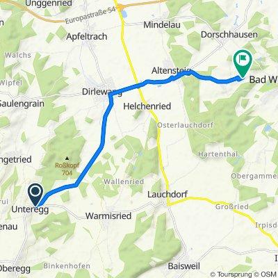 Mindeltalstraße 24A, Unteregg nach Am Tannenbaum 14, Bad Wörishofen