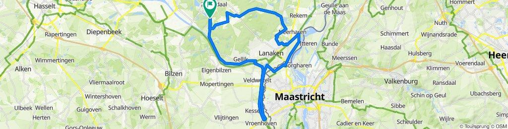 Kanalen van Lanaken - 43 KM - Makkelijk