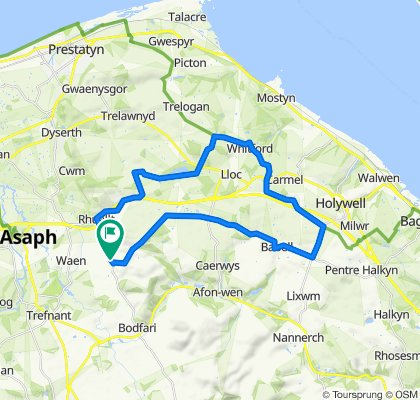 B5429, Saint Asaph to Tremeirchion Road, Saint Asaph