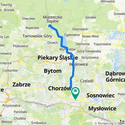 🚴🏼♂️ Katowice ➡️ Zalew Nakło-Chechło