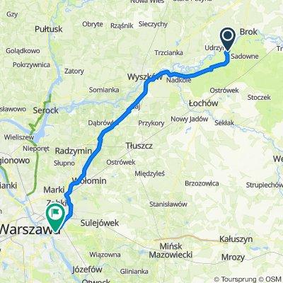 Wilczogęby 31, Sadowne do Poprawna 166, Warszawa