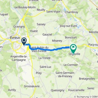 De Allée Marcel Reine, Le Vieil-Evreux à 18 Rue des Papillons, Caillouet-Orgeville