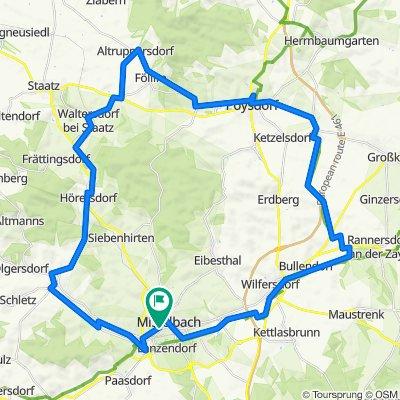 """Radtour """"Der Sylvaner"""""""