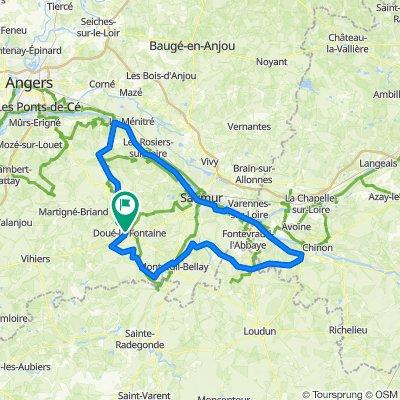 Doué-la-Fontaine Cycling