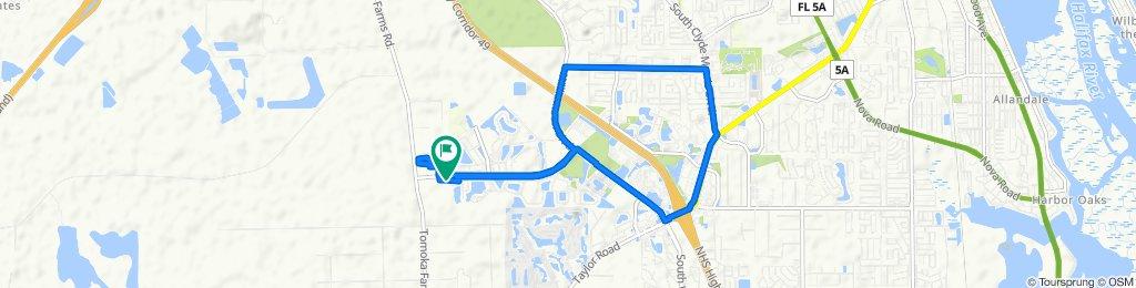 5518 Estero Loop, Port Orange to 5517 Estero Loop, Port Orange