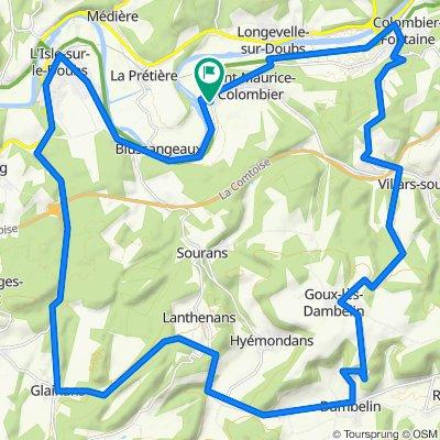 De 2A Rue de la Forge, Saint-Maurice-Colombier à 2A Rue de la Forge, Saint-Maurice-Colombier
