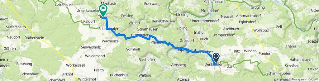 4. Mittwoch: Denkendorf-Titting