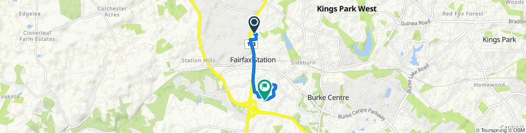 10956 Keys Ct, Fairfax to 5912 Oakland Park Dr, Burke