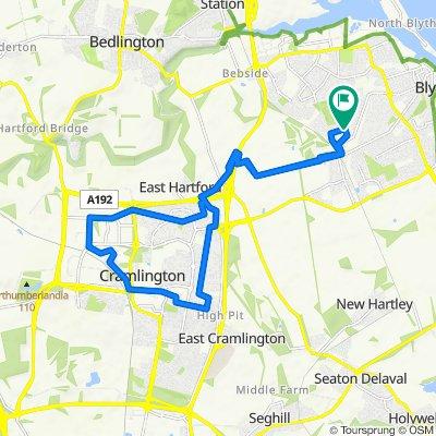 5 Thropton Avenue, Blyth to 14 Falston Road, Blyth