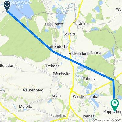 Route nach Dolsenhainer Straße 17, Windischleuba