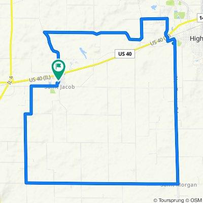County Road 13 303, Saint Jacob to West 4th Street 102, Saint Jacob