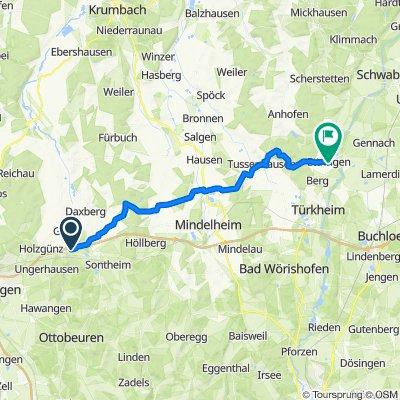 Easy ride in Ettringen