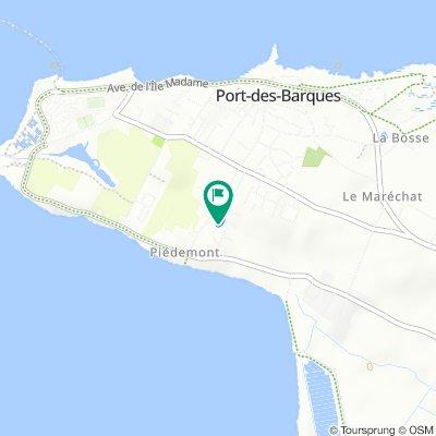 De 7 Rue des Pêcheries, Port-des-Barques à 8 Rue des Pêcheries, Port-des-Barques