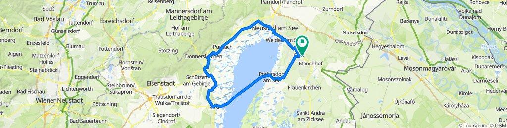 Gols-Rust-Podersdorf (Fahrradfähre)-Gols