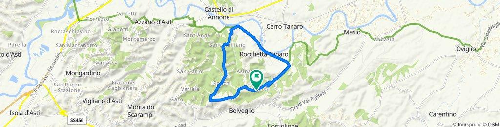 Casale Cornalea 40, Rocchetta Tanaro to Via Garoita, Cornalea