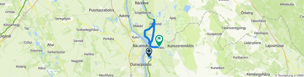 Route to Bajcsy-Zsilinszky Endre út 15a., Tass