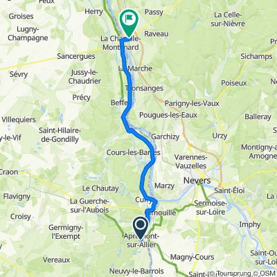 La Charité-sur-Loire - Apremont-sur-Allier