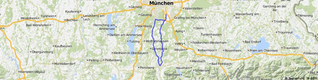 UH-Endlhausen-Dietramszell-BadTölz-Einöd-Egling-Grünwald-OH-UH