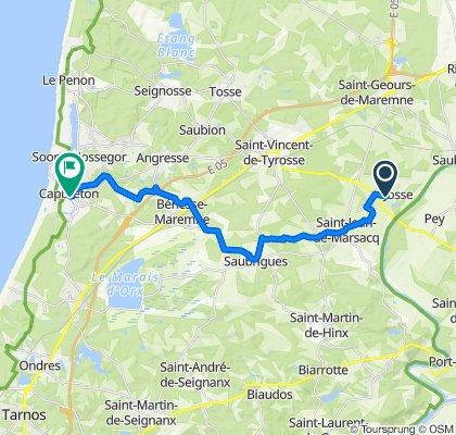 De 615bis Route du Agna, Josse à 2 Rue Madeleine Castaings, Capbreton