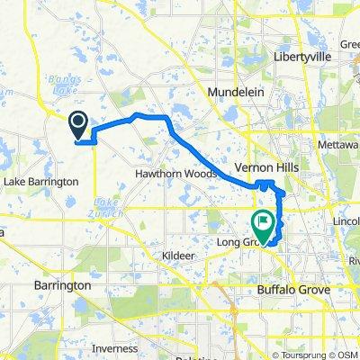 459 E Oakwood Dr, Barrington to 1379 Logsdon Ln, Buffalo Grove