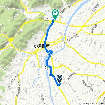 Washigashima, Oyabe-Shi to Oyabe Bypass, Oyabe-Shi