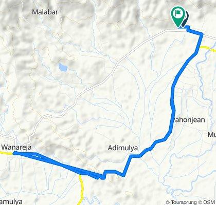 Jalan KH. Sufyan Tsauri, Kecamatan Majenang to Cigaru, Kecamatan Majenang