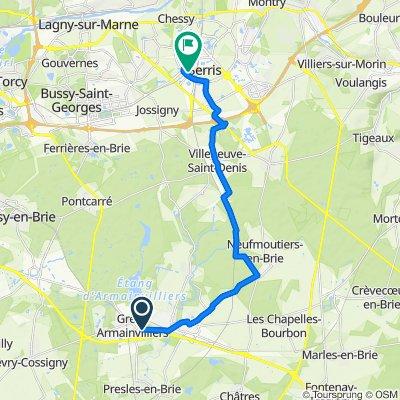 De Avenue des Hêtres Pourpres 12, Gretz-Armainvilliers à Val d'Europe, Serris