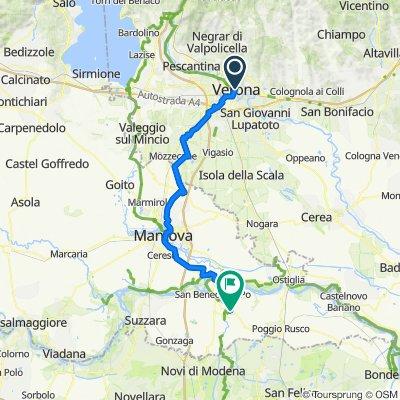 Verona-> Quistello etappe 4