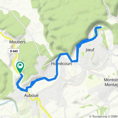 De 4 Route de Briey, Auboué à 2–4 Route de Briey, Auboué