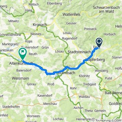 Tannenwirtshaus 5–7, Marktleugast nach In der Au 3, Burgkunstadt