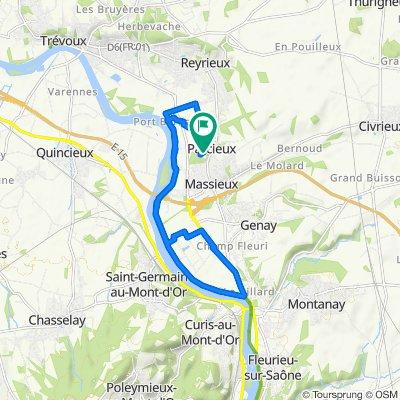 De 66 Chemin du Pont de l'Âne, Parcieux à 120 Chem du Ponts de l'Ane, Parcieux