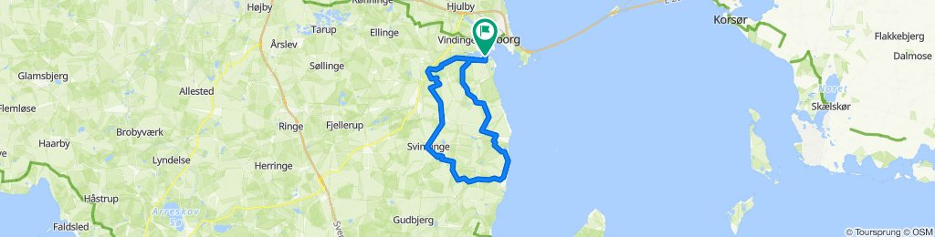 South of Nyborg
