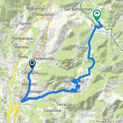 Steady ride in Casella