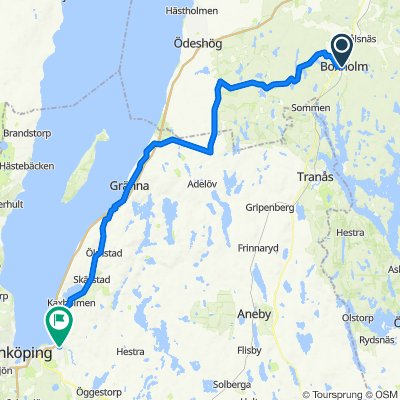 Boxholm - Huskvarna
