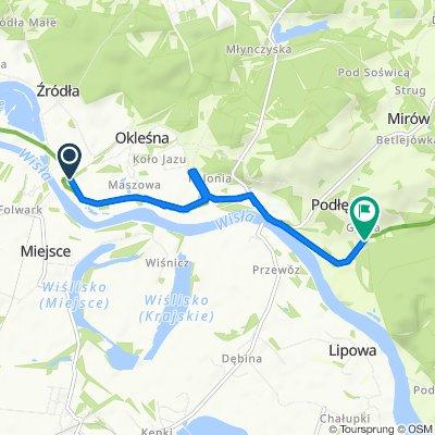 Unnamed Road, Źródła do Studzienna 14, Podłęże