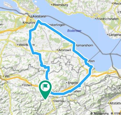 St. Gallen, Steinach, Romanshorn, Münsterlingen, Berg TG, Hohentannen, Bischofszell, Hauptwil, Gossau