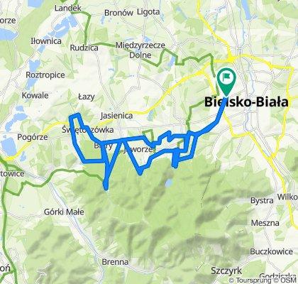 Mieszka I 36a, Bielsko-Biała do Mieszka I 36a, Bielsko-Biała