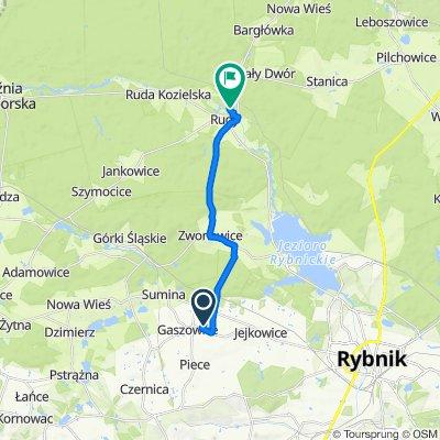 Podleśna 2C, Gaszowice do Unnamed Road, Rudy