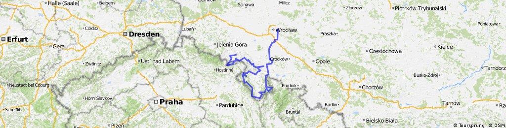Z Wrocławia w góry Dolnego Śląska / From Wroclaw into Lower Silesian mountains