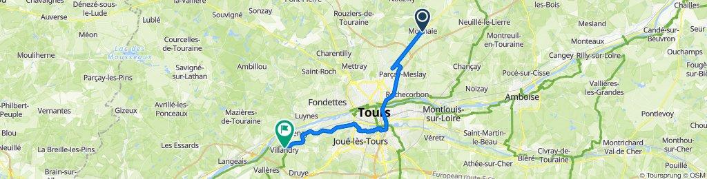 De 2bis Rue du Moulin à Vent, Monnaie à 3–7Bis Rue Principale, Villandry
