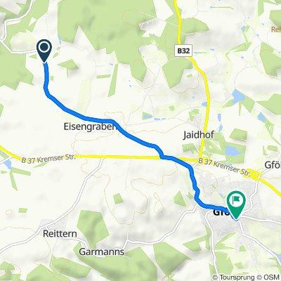 Eisengraberamt, Jaidhof nach Kremser Straße 7, Gföhl