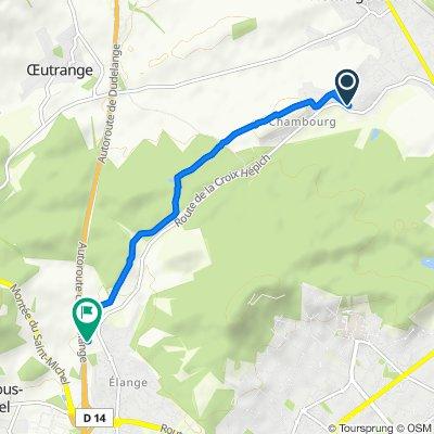 Easy ride in Hettange-Grande