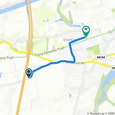Weaste Lane, Lymm to 77–79 Albany Road, Lymm