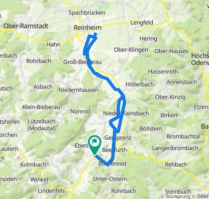 Konrad-Adenauer-Allee 10, Reichelsheim do Konrad-Adenauer-Allee 8, Reichelsheim