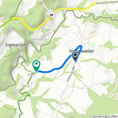 Eschbach 1, Hohenweiler nach Ried 1, Hohenweiler