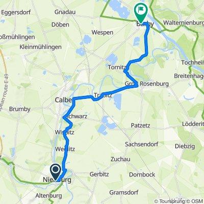 Adolf-Meyer-Straße 8, Nienburg (Saale) nach K1279 1, Barby (Elbe)