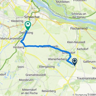 Heidesiedlung-Badeteich II 1, Margarethen am Moos nach Rabengasse 9/3, Zwölfaxing